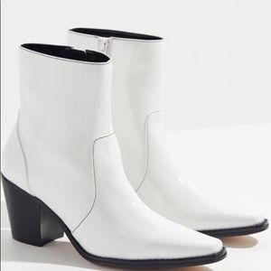 Urban Outfitters white Mickie Modern Cowboy Boots